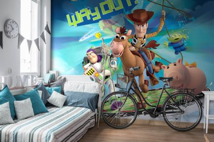 Toy Story Disney bedroom wallpaper
